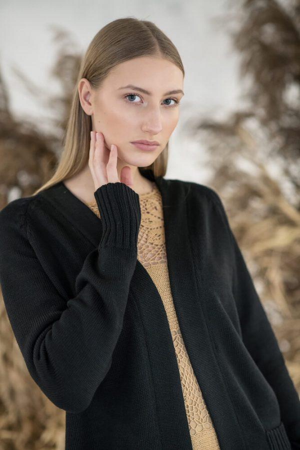 Merino wool cardigan - 2
