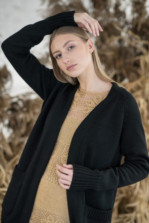 Merino wool cardigan - 3