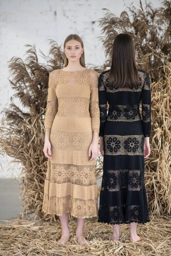 Floral patterned midi dress - 1