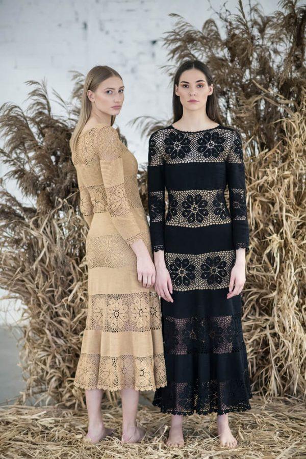 Floral patterned midi dress - 7