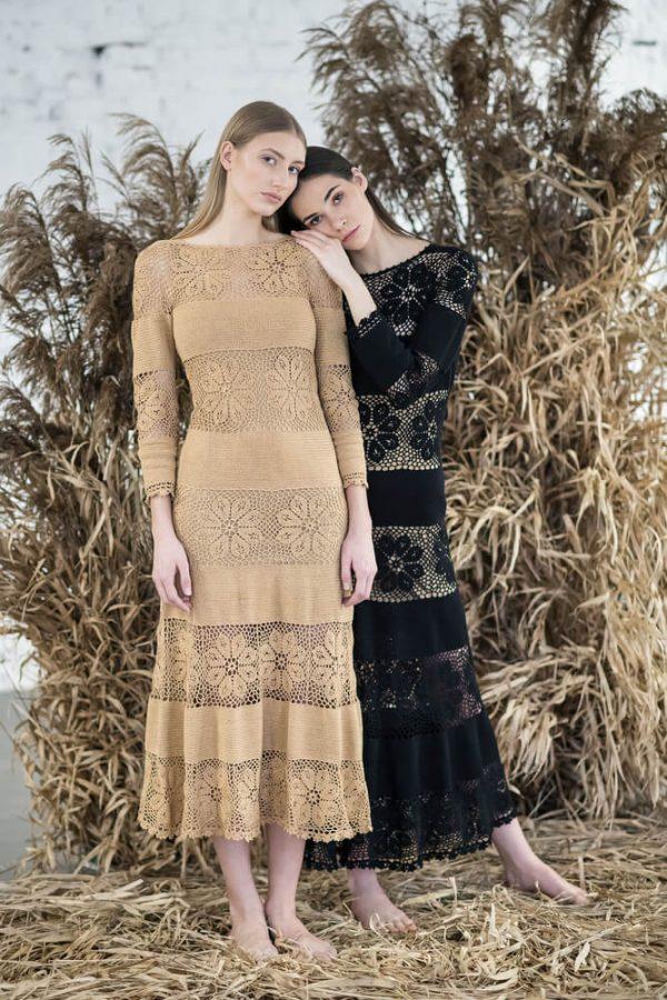 Floral patterned midi dress