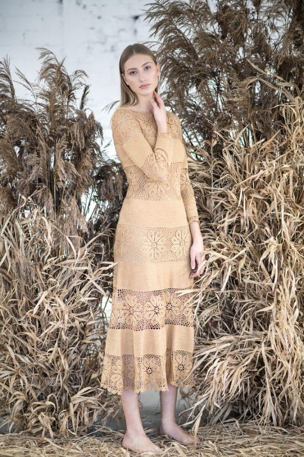 Floral patterned midi dress - 3