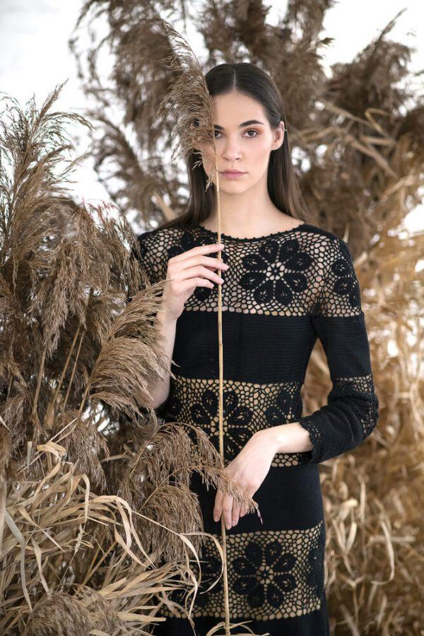 Floral patterned midi dress - 4