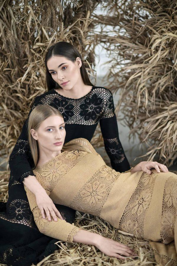 Floral patterned midi dress - 6