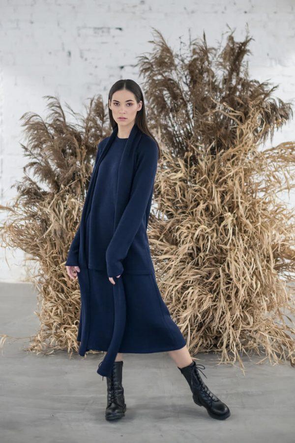 Long blue sweater - 3